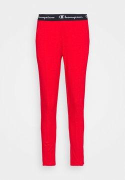 Champion - SLIM PANTS - Pantaloni sportivi - red