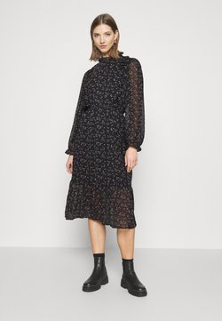 Vero Moda - VMTHALASSA DRESS - Freizeitkleid - black/thalassa