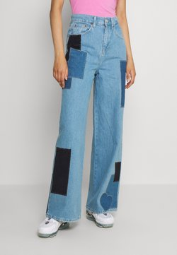 BDG Urban Outfitters - PRETTY PATCH PUDDLE - Jeans relaxed fit - blue