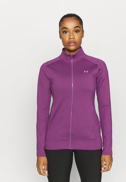 Under Armour - STORM MIDLAYER FULL ZIP - Sweatjacke - baltic plum
