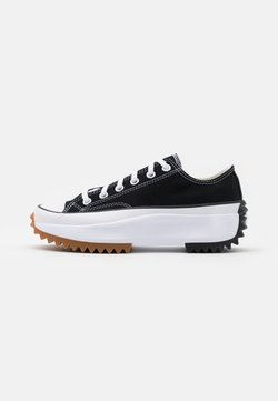 Converse - RUN STAR HIKE - Sneakersy niskie - black/white