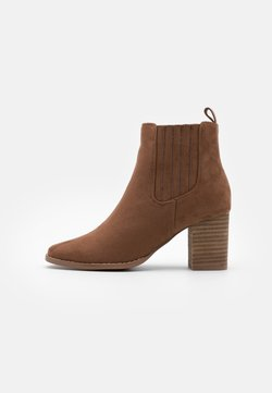 Rubi Shoes by Cotton On - PETRA GUSSET - Korte laarzen - tan