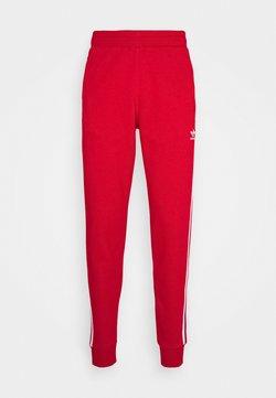 adidas Originals - STRIPES PANT UNISEX - Jogginghose - scarle