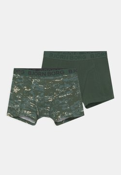Björn Borg - DIGITAL WOODLAND SAMMY 2 PACK - Panties - duck green