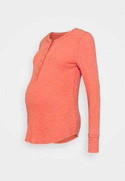 GAP Maternity - RELAX - Camiseta de manga larga - hot sauce