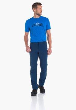 Schöffel - FOLKSTONE - Stoffhose - blue