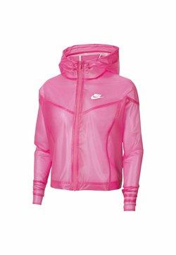Nike Sportswear - TRANSPARENT - Giubbotto Bomber - pink glow/white/white