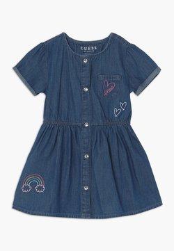 Guess - LIGHT DRESS PANTIES BABY   - Jeanskleid - early night dark blu