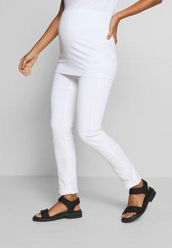 Esprit Maternity - PANTS - Slim fit jeans - white