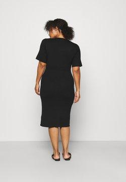 Mamalicious Curve - MLDIA DRESS - Jerseyjurk - black