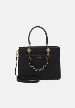 ALDO - MIRETHIEL - Handtasche - black/gold-coloured