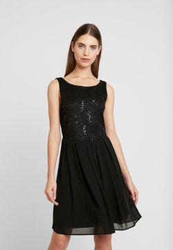 Vila - VIGINA DRESS - Sukienka koktajlowa - black