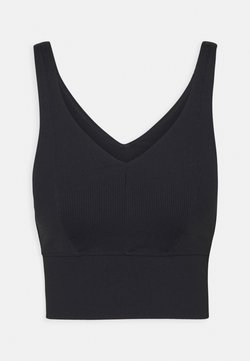 Cotton On Body - V NECK VESTLETTE - Sports-BH - black