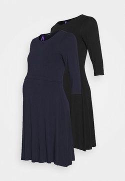 Seraphine - UNA 2 PACK - Vestido ligero - black/navy