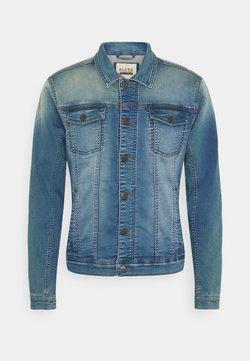 Blend - Kurtka jeansowa - denim middle blue