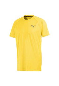 Puma - TECH TRAINING MAND - T-paita - ultra yellow