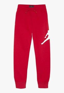 Jordan - JUMPMAN LOGO PANT - Verryttelyhousut - gym red
