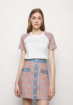 maje - TWEEDY - T-Shirt print - ecru