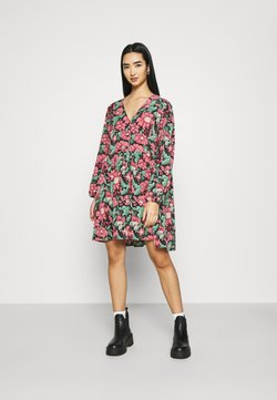 Monki - TORBORG DRESS - Sukienka letnia - black