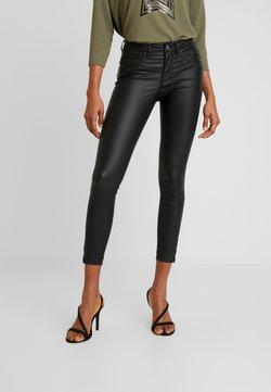 ONLY - ONLKENDELL ANKLE COATED - Jeans Skinny Fit - black