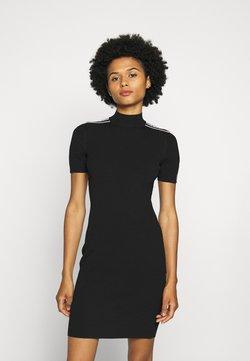 MICHAEL Michael Kors - CIRCLE TAPE DRESS - Vestido de tubo - black