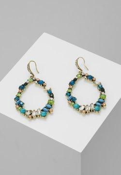 sweet deluxe - Earrings - antikgold-coloured/blau/peach