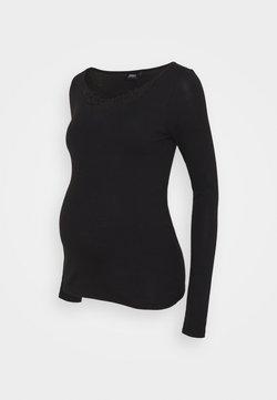 ONLY - OLMKIRA LIFE - Pitkähihainen paita - black