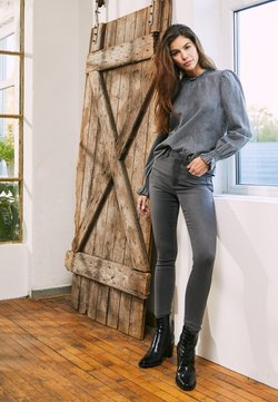 ONLY - ONLROYAL HIGH  - Jeans Skinny - dark grey denim
