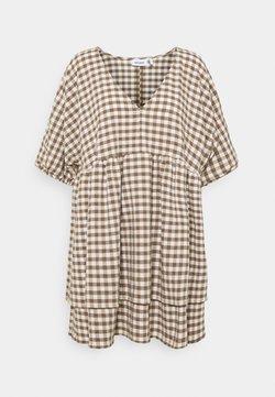 Weekday - HEDVIG DRESS - Freizeitkleid - brown check
