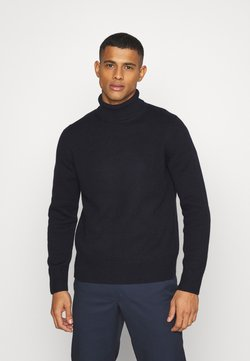 ARKET - TURTLENECK JUMPER - Strickpullover - blue medium