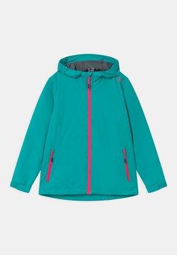 CMP - FIX HOOD - Waterproof jacket - turquoise/pink