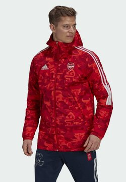 adidas Performance - ARSENAL LONDON CNY PAD JKT - National team wear - scarle