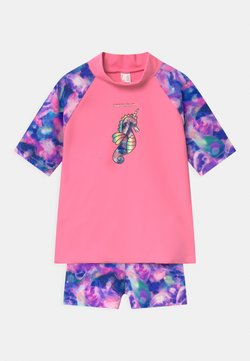 Speedo - SUN PROTECT SET - Costume da bagno - jelly spearmint/posie pink