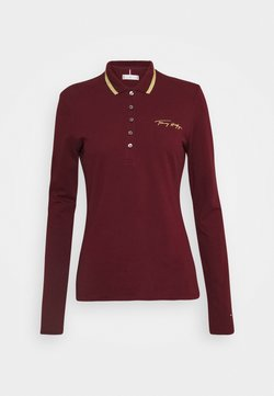 Tommy Hilfiger - Polo - deep rouge