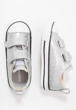 Converse - CHUCK TAYLOR ALL STAR GLITTER - Matalavartiset tennarit - silver/white/black