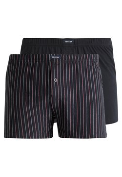 Ceceba - FOXE 2 PACK - Boxershorts - navy/red