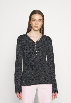 Ragwear - PINCH STARS - Pitkähihainen paita - black