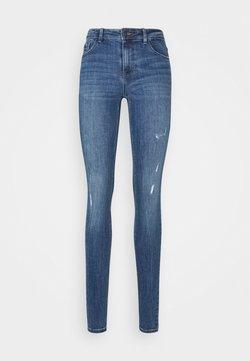 Vero Moda Tall - VMLYDIA - Jeans Skinny Fit - dark blue denim