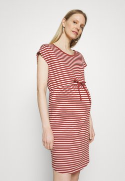 ONLY - OLMMAY LIFE DRESS - Jerseykleid - apple butter