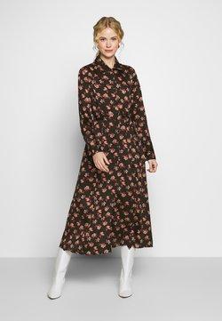 Cream - MARGOT DRESS - Skjortekjole - pink flowers