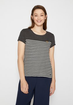 TOM TAILOR DENIM - T-Shirt print - shale grey melange