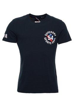 Superdry - VINTAGE SPORT - T-shirt imprimé - eclipse navy