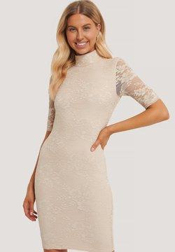 NA-KD - Cocktailkleid/festliches Kleid - beige