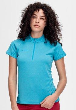 Mammut - AEGILITY HALF ZIP - T-Shirt basic - ocean melange