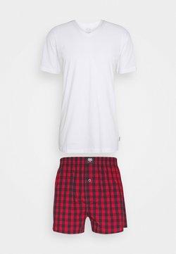 Ceceba - X-MAS SET - Pyjama - red medium checks
