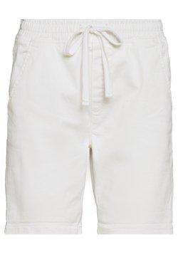 edc by Esprit - SLIM JOGGER - Jeansshort - white