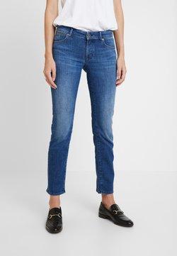 Marc O'Polo - TROUSER MID WAIST - Jeans a sigaretta - blue wash