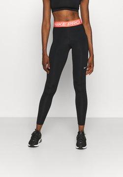 Nike Performance - Tights - black/magic ember/white