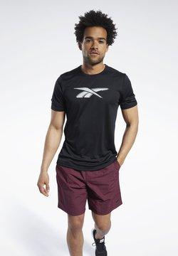 Reebok - WORKOUT READY GRAPHIC T-SHIRT - T-Shirt print - black