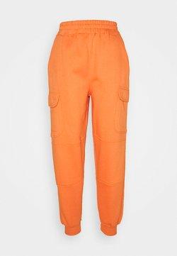Missguided - POCKET DETAIL - Jogginghose - orange